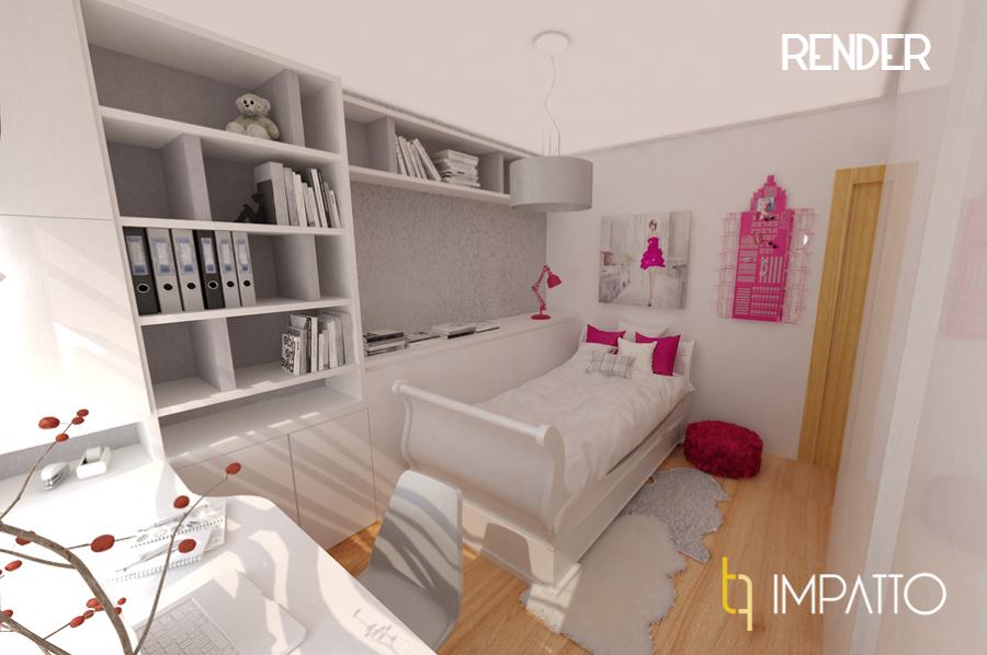 Interiorismo dormitorio juvenil en valencia ideas - Decoradores en valencia ...