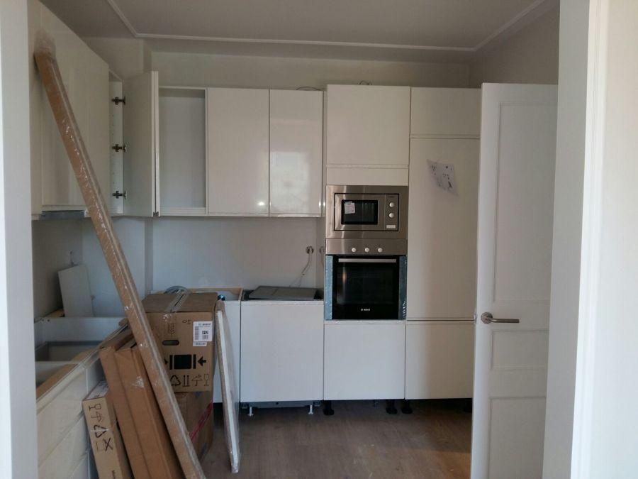 Renovación de la cocina, muebles a medida