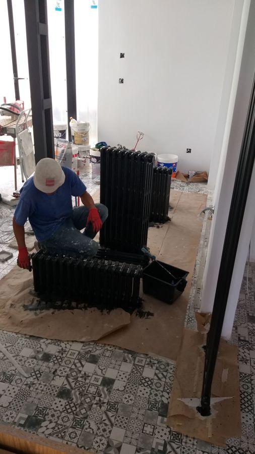 Renovación de radiadores de fundición