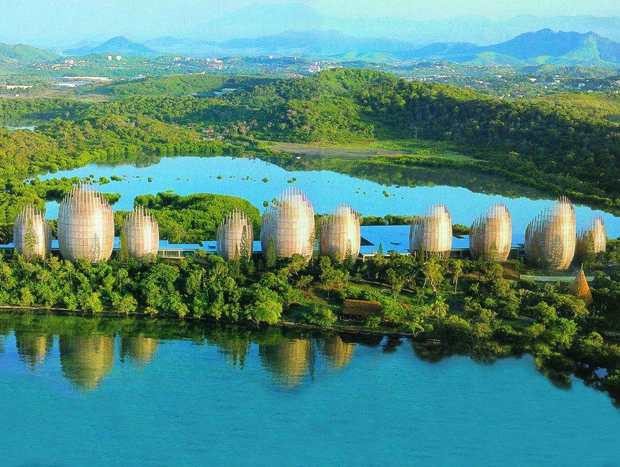 renzo piano CENTRO CULTURAL JEAN-MARIE TJIBAOU Nueva Caledonia
