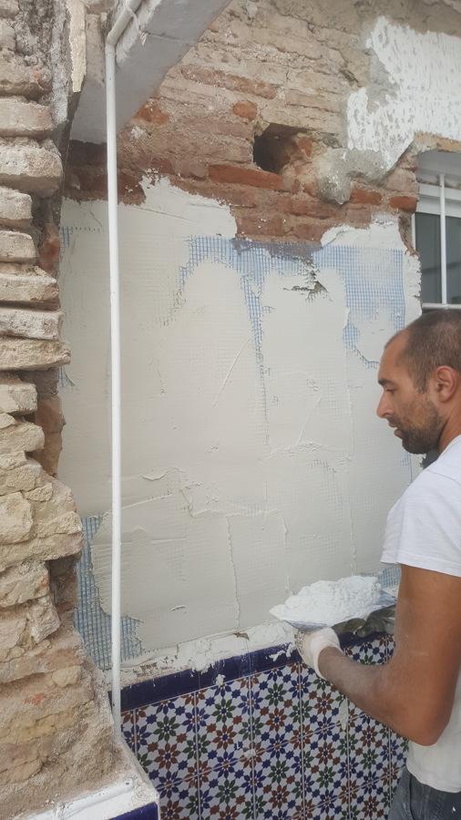 Reparación de paredes