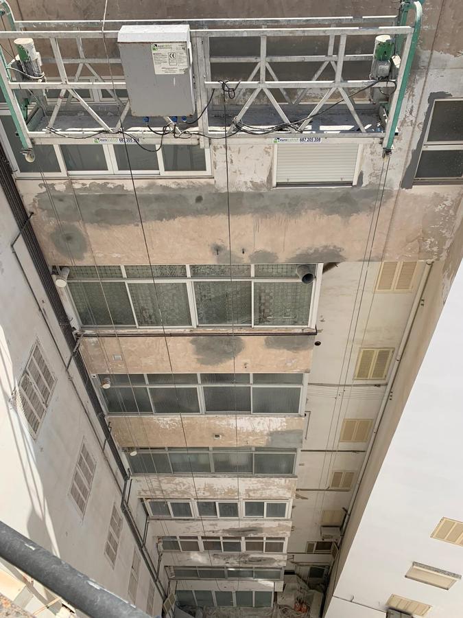 Reparación de zuncho y fisuras estructurales.