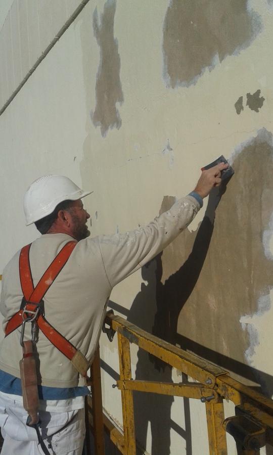 Reparación del soporte