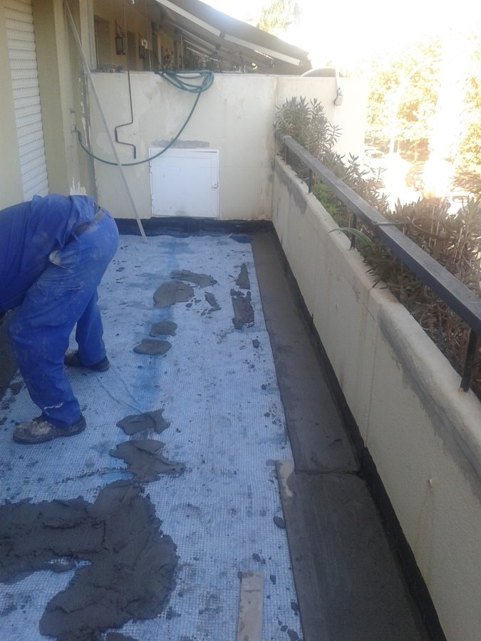 Reparacion de impermeabilizacion en terraza transitable for Impermeabilizar terraza transitable