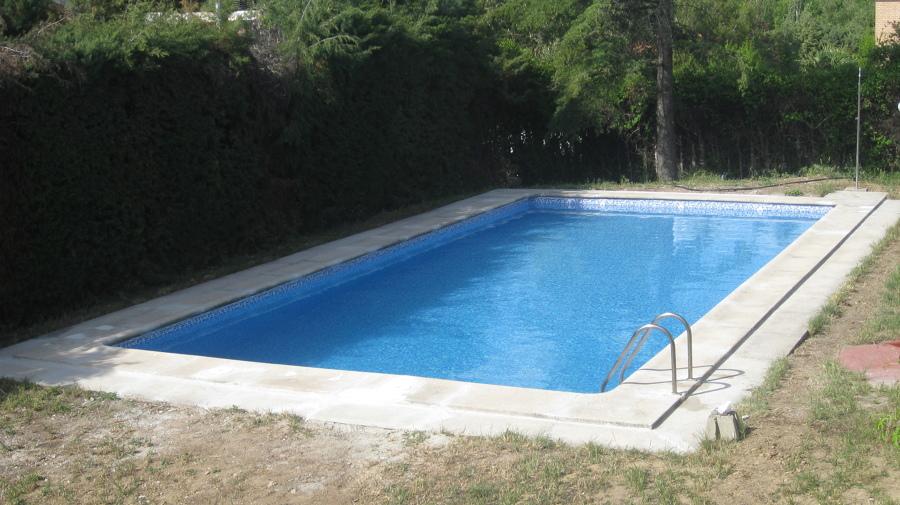 Reparación piscina de obra