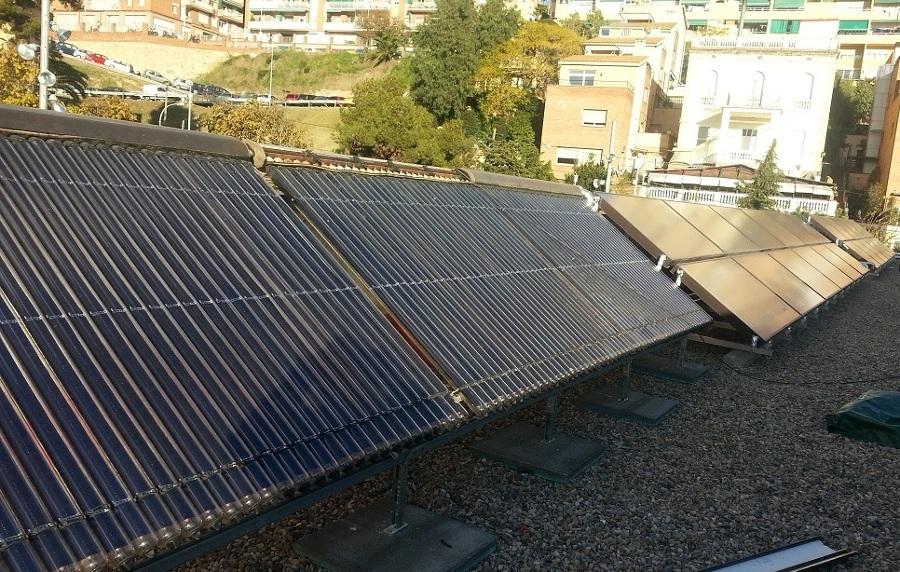 Referencias energia renovables calefacci n de alto for Piscina publica barcelona