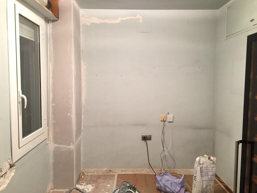 Reparación y Colocación papel pintado