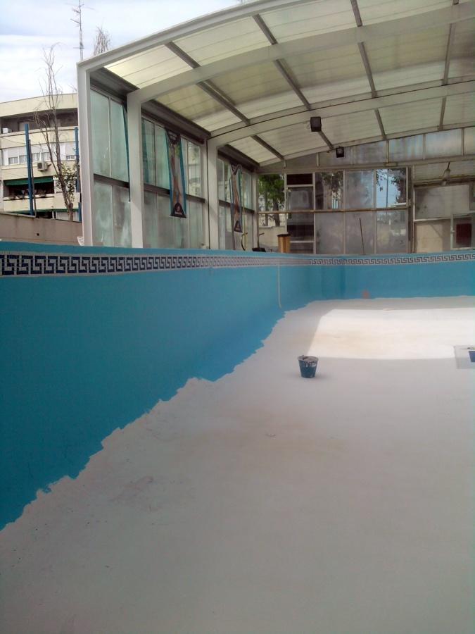 Reparacion y pintado de vaso de piscina ideas for Pintado de piscinas