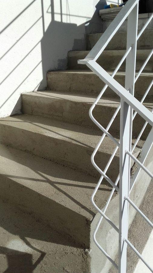 Replanteo de la escalera
