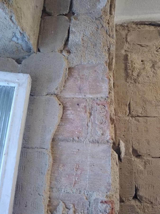 Resane de bordes de ventanas y esquineros