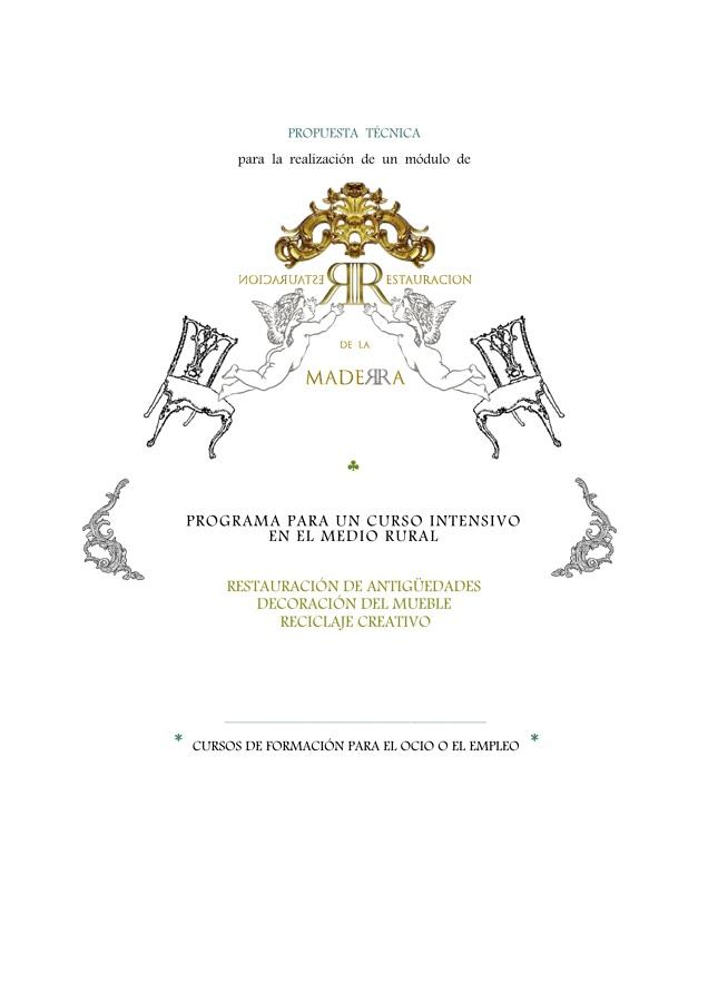 Respeto por la Madera  [Docencia].