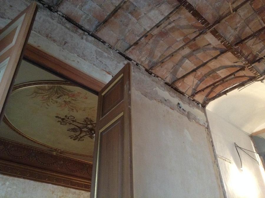 restauración de techos