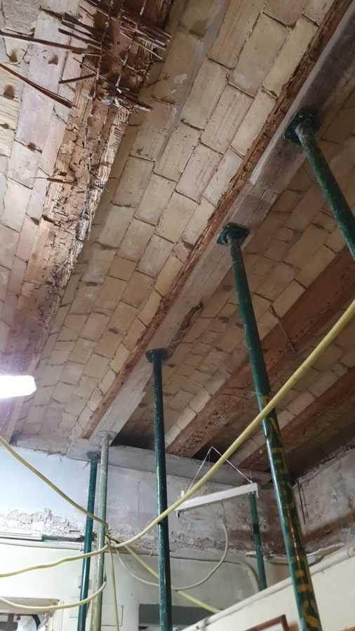 Restauración y reparación vigas de madera