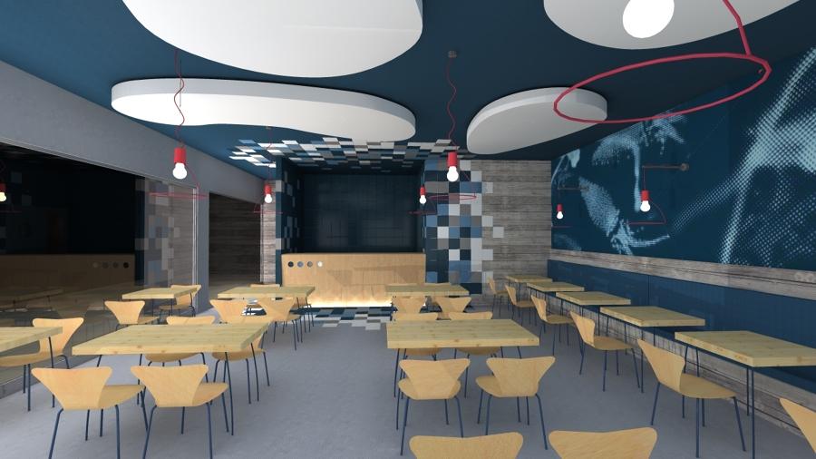 Restaurante De Comidas Rapidas Ideas Arquitectos