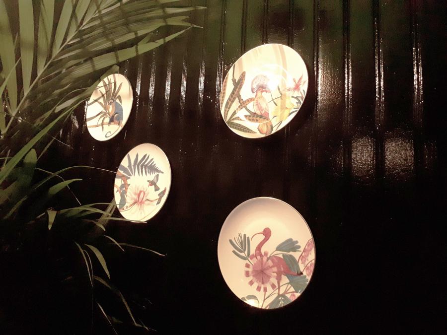 Restaurante: Detalle interior