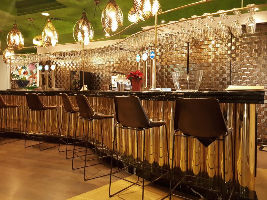 Restaurante: Detalle luminaria
