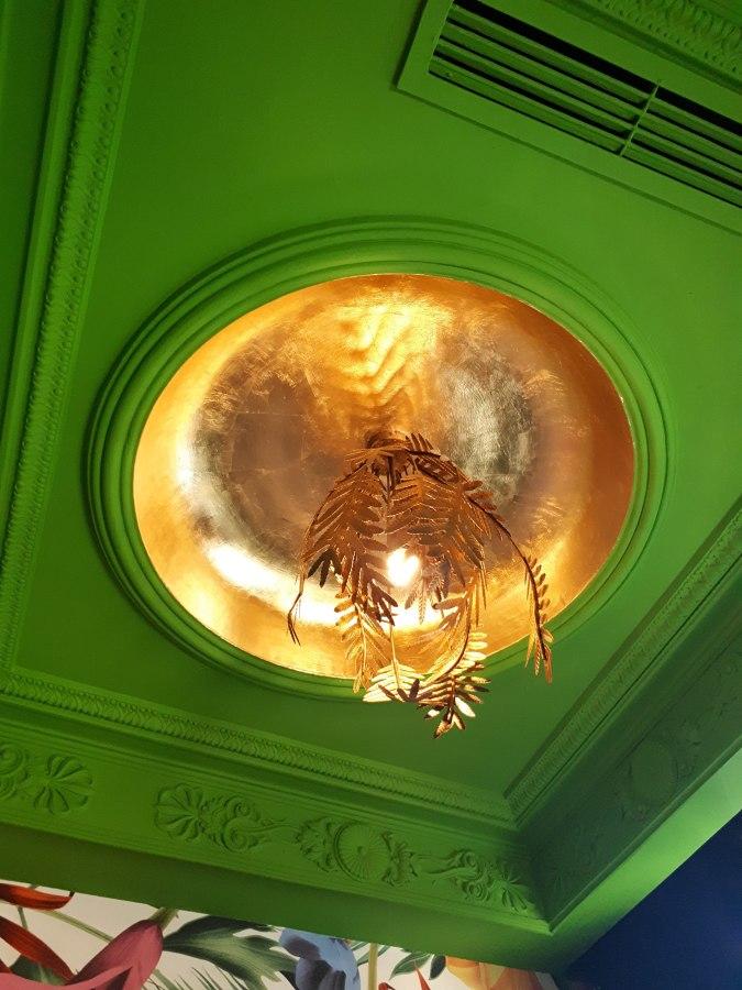Restaurante: Luminaria salón privado