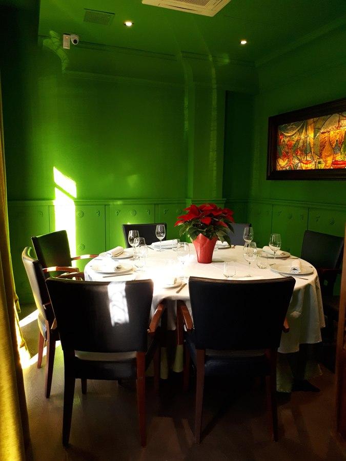 Restaurante: Salón privado