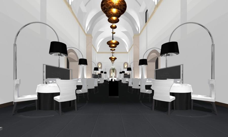 Foto restaurante villena en segovia antigua iglesia - Restaurante villena segovia ...