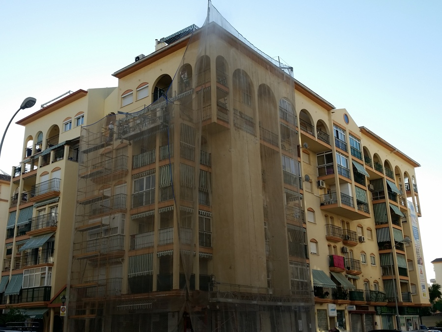 restaurar bloque viviendas