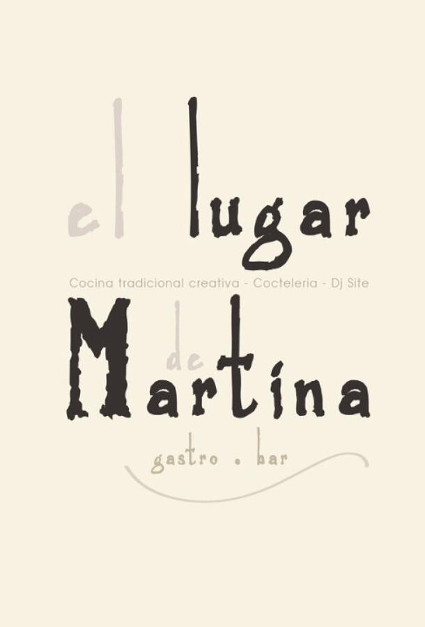 """Restaurate """"el lugar de Martina"""""""