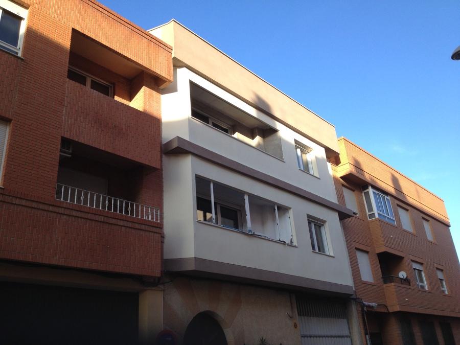 Foto revestimiento de fachada con mortero monocapa de rumer sl 743011 habitissimo - Revestimiento de fachada ...
