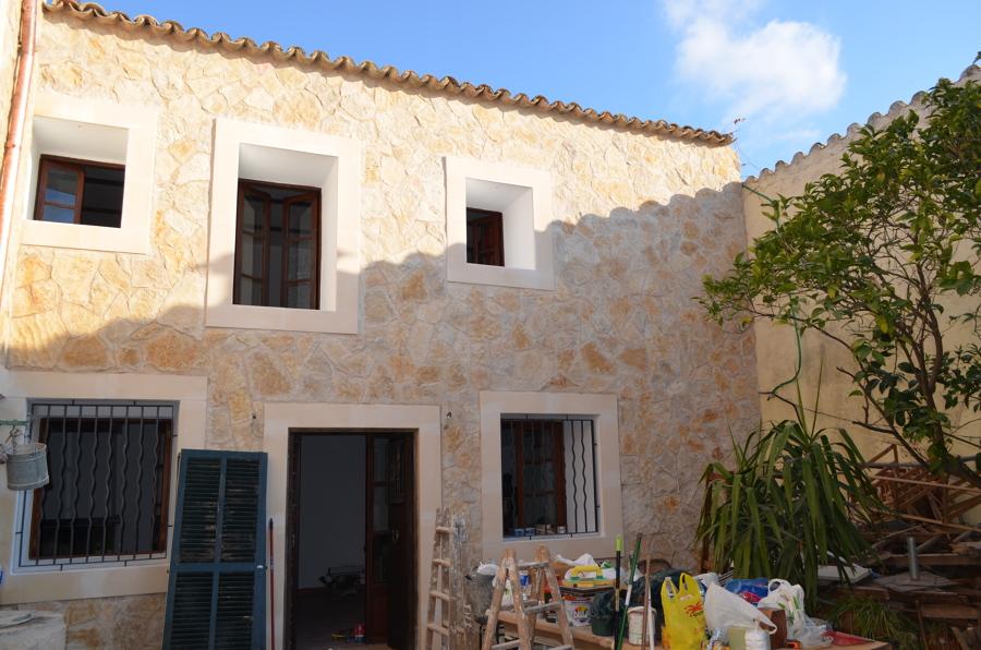 De fachadas con piedra fachadas de casas de piedra y - Fachadas ventiladas de piedra ...