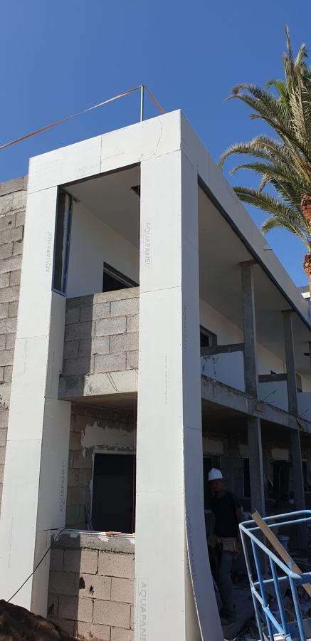Revestimiento de fachadas