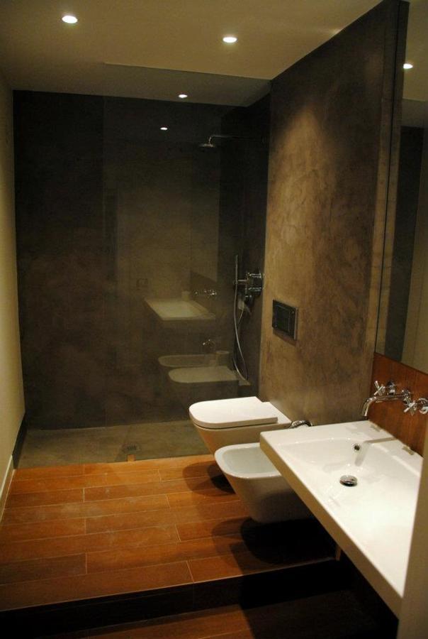 Baños Microcemento Fotos:Plato de ducha de obra revestido en microcemento Superficies