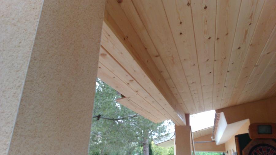 foto revestimiento de techo de jsbparquet 904786