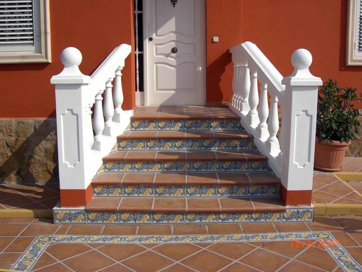 Balaustres con escaleras exteriores related keywords for Escaleras exteriores