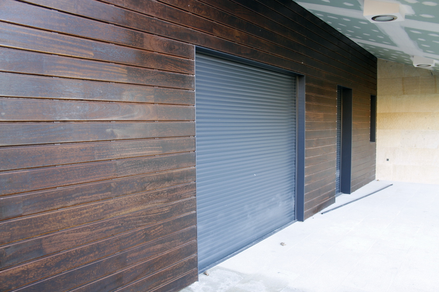 revestimiento exterior con madera angeln pedra enlazada - Revestimiento Exterior