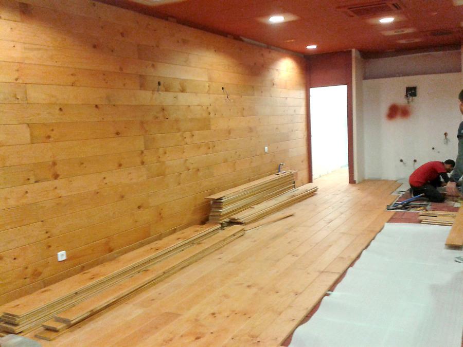 revestimiento madera