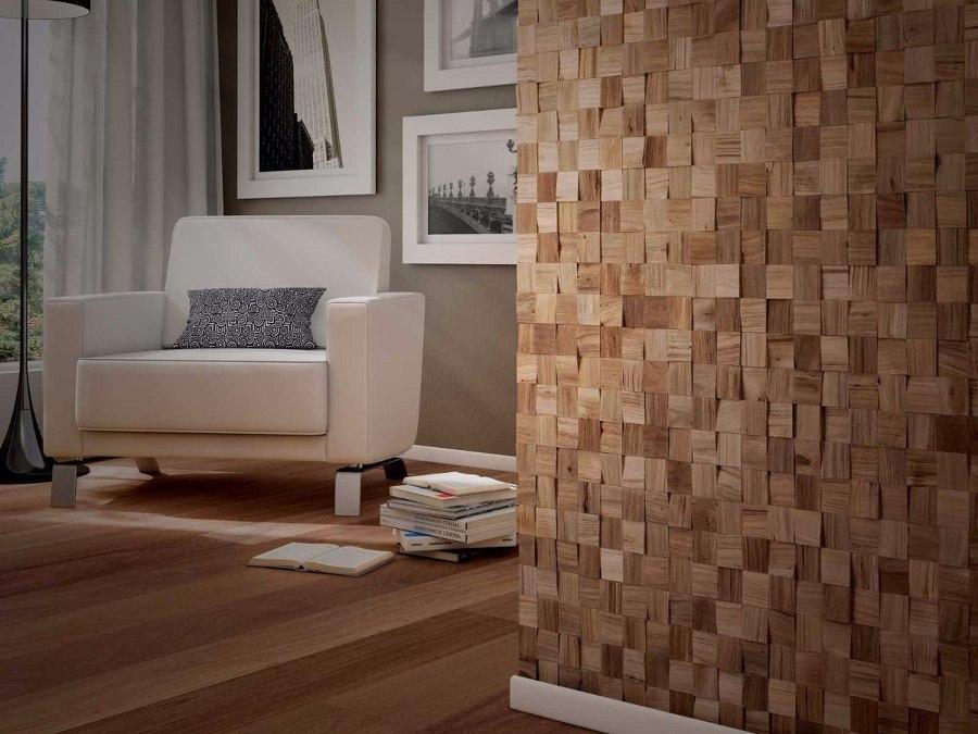 Dialo o malo revestimiento 3d ideas materiales construcci n - Revestimiento madera paredes ...