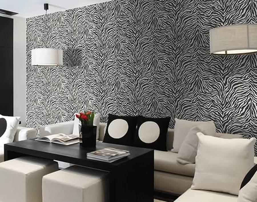 Poner papel sobre gotele great zebra vinilos cmo instalar for Colocar papel mural