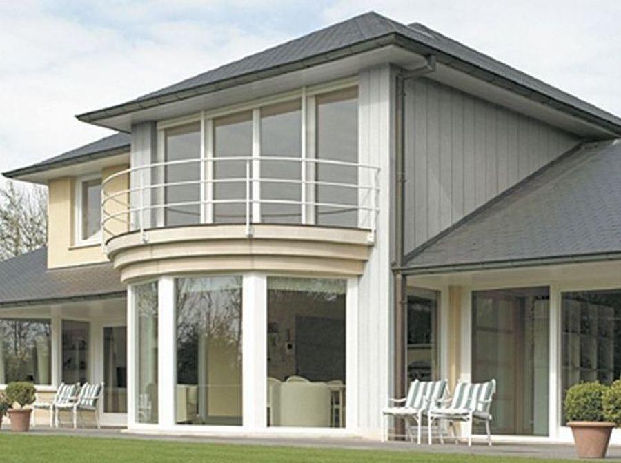 El pvc como revestimiento ideas carpinter a pvc - Revestimientos de fachadas exteriores ...