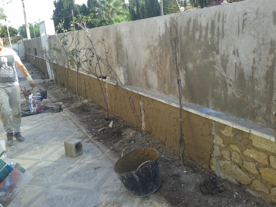 Revestir muro de bloques y alisar ideas rehabilitaci n fachadas - Revestir pared exterior ...
