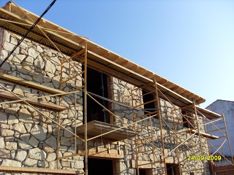 revestir pared con piedras