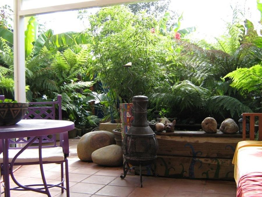 C mo conseguir una terraza tropical ideas art culos for Articulos terraza