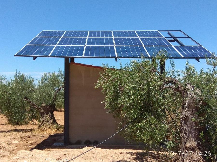 Riego solar directo