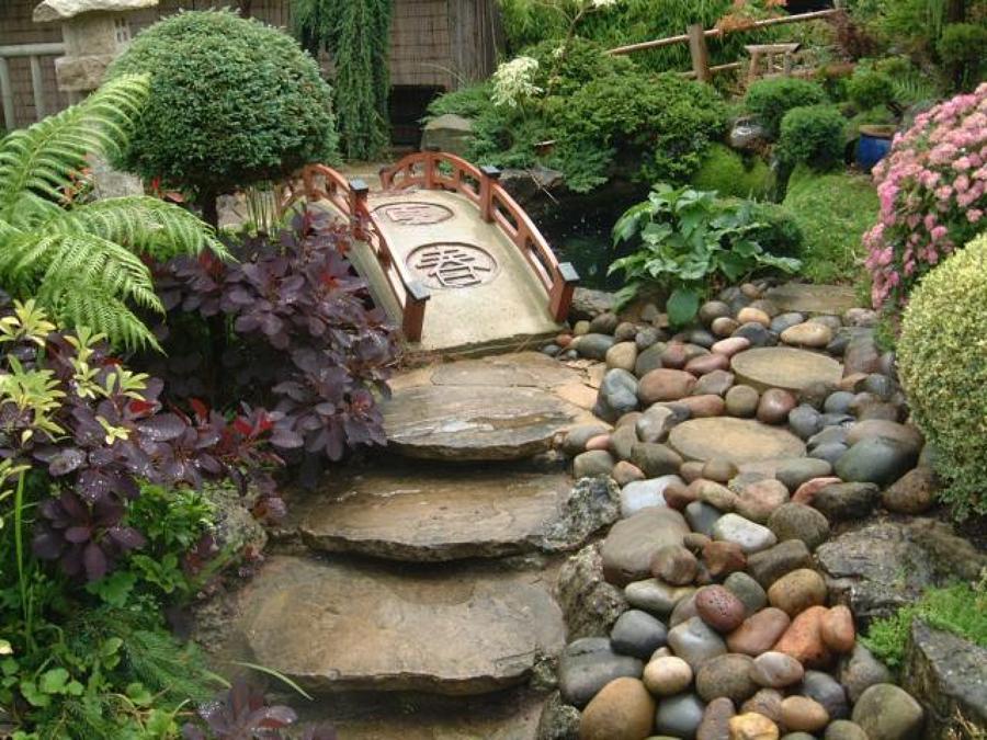 Qu papel juegan las rocas en un jard n japon s ideas - Rocas para jardin ...