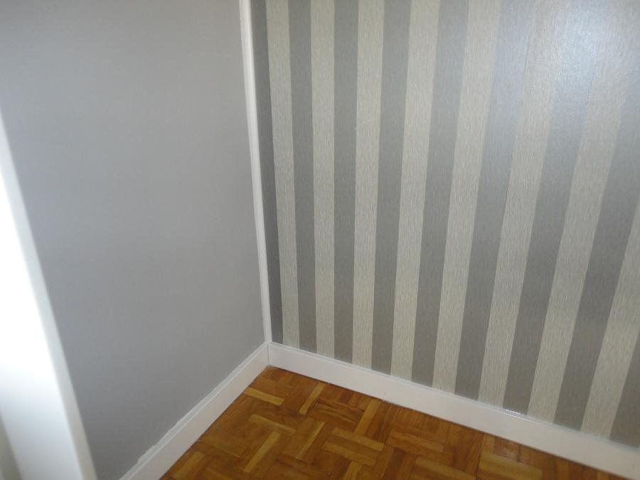rodapie, pintura pared y forrado pared
