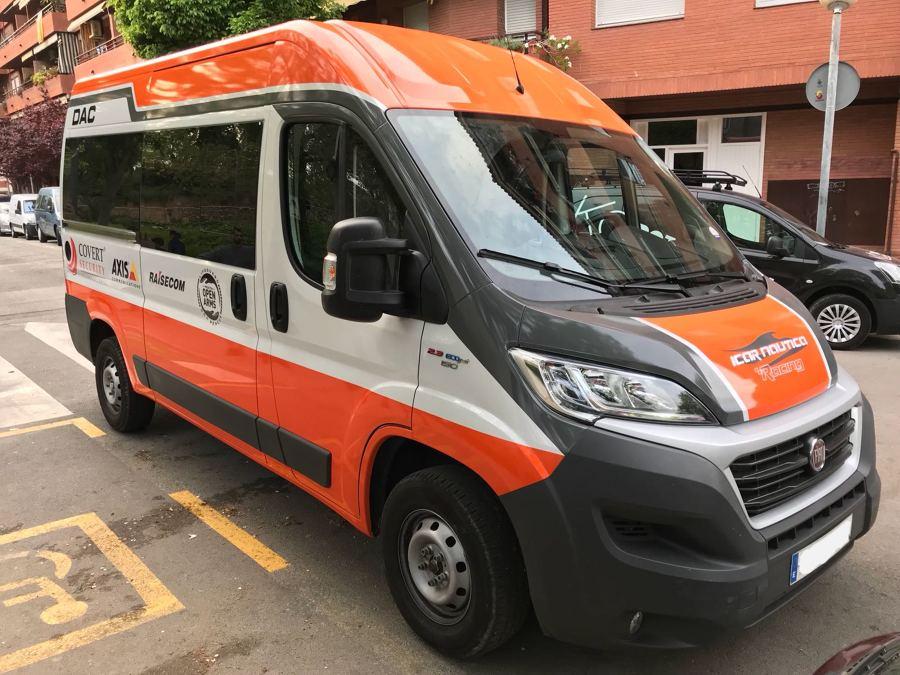 Rotulación de furgoneta personalizada