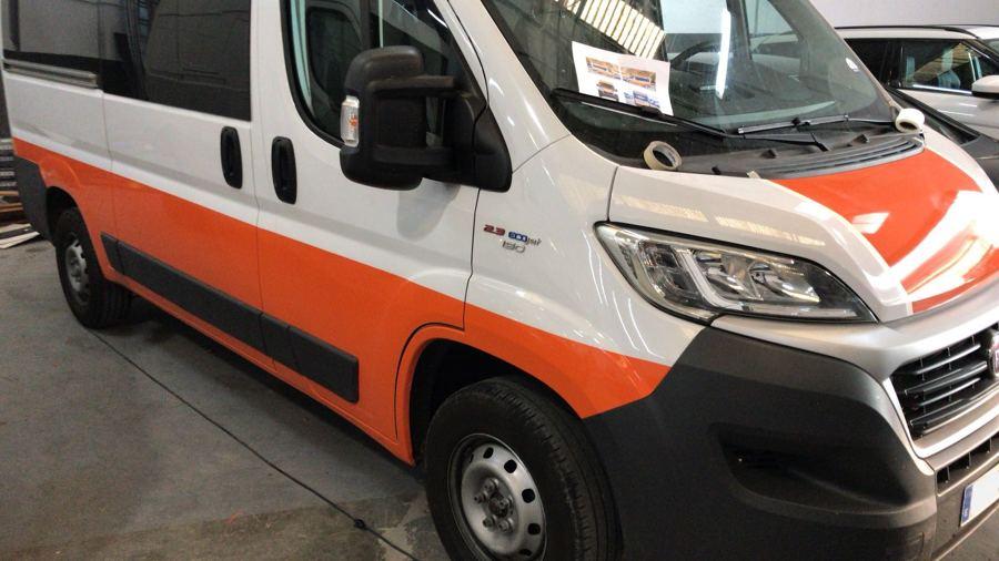 Rotulación personalizada de furgoneta