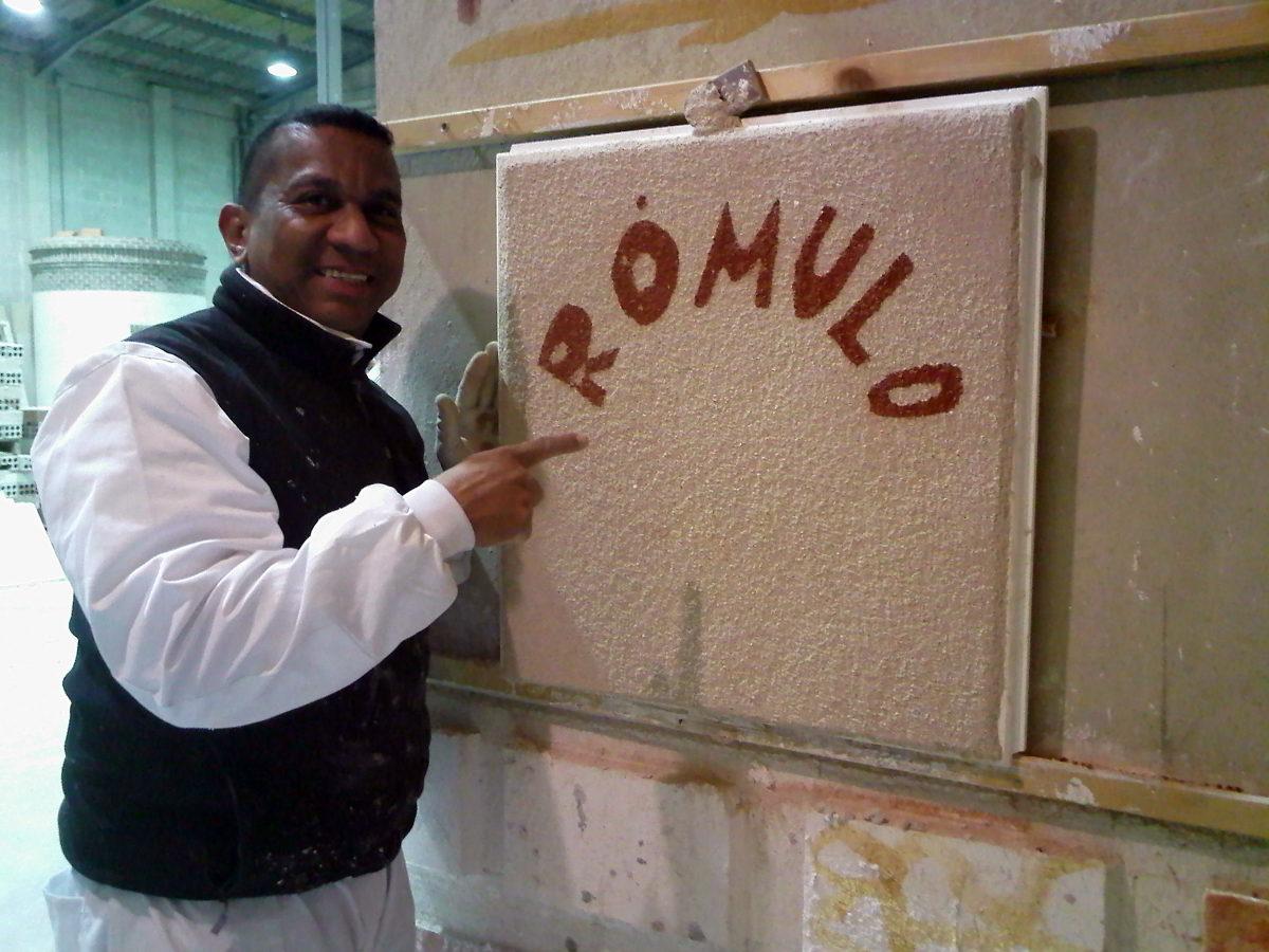 Rómulo.Pintor  Profesionalidad y seriedad