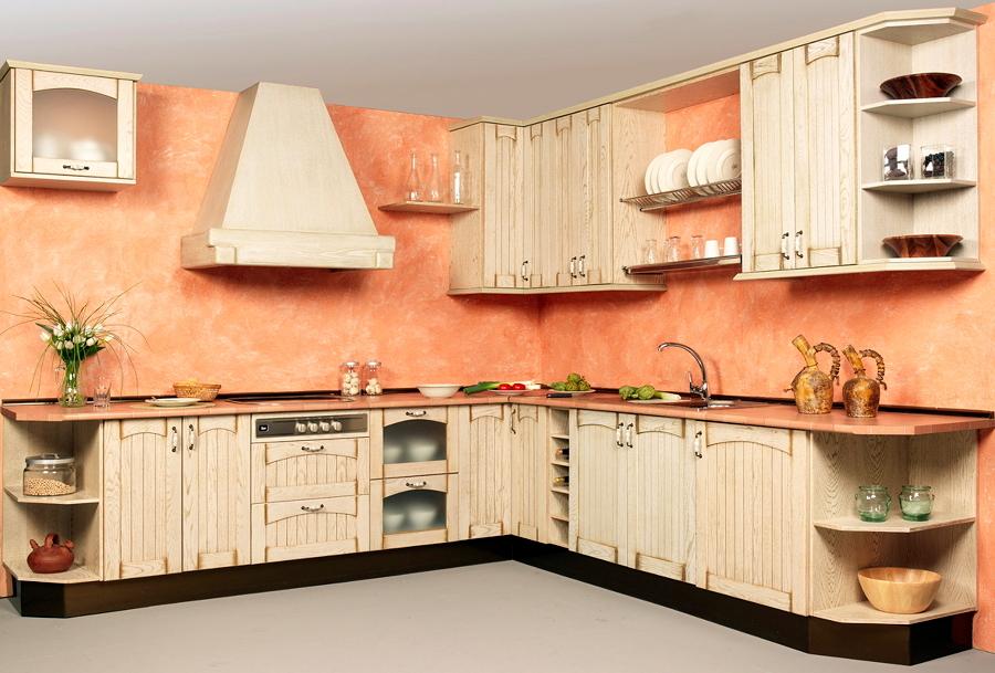 Calidez y dise o en cocinas r sticas ideas art culos - Cocinas de obra rusticas ...