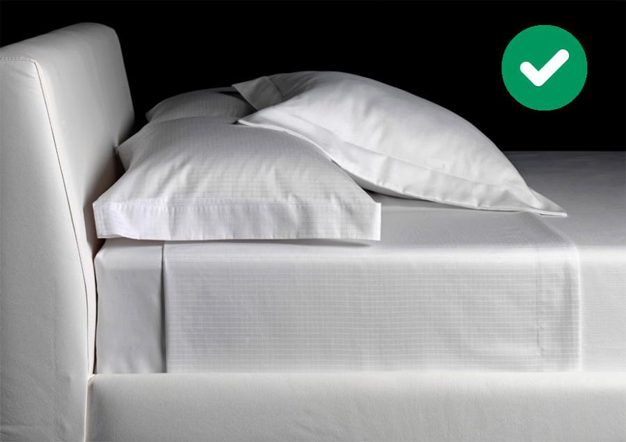 sábanas y cojines