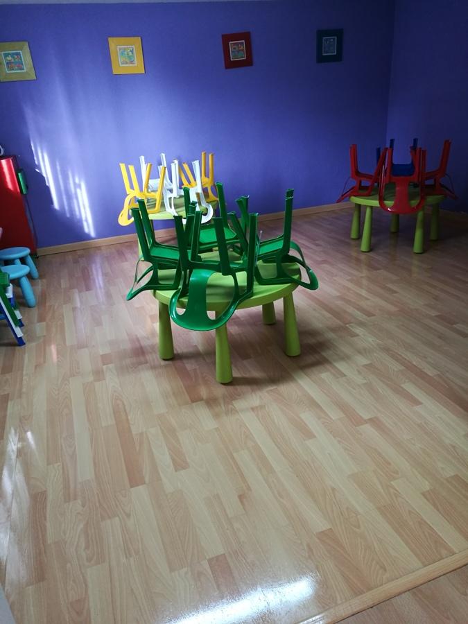 Sala 1 limpia y recogida