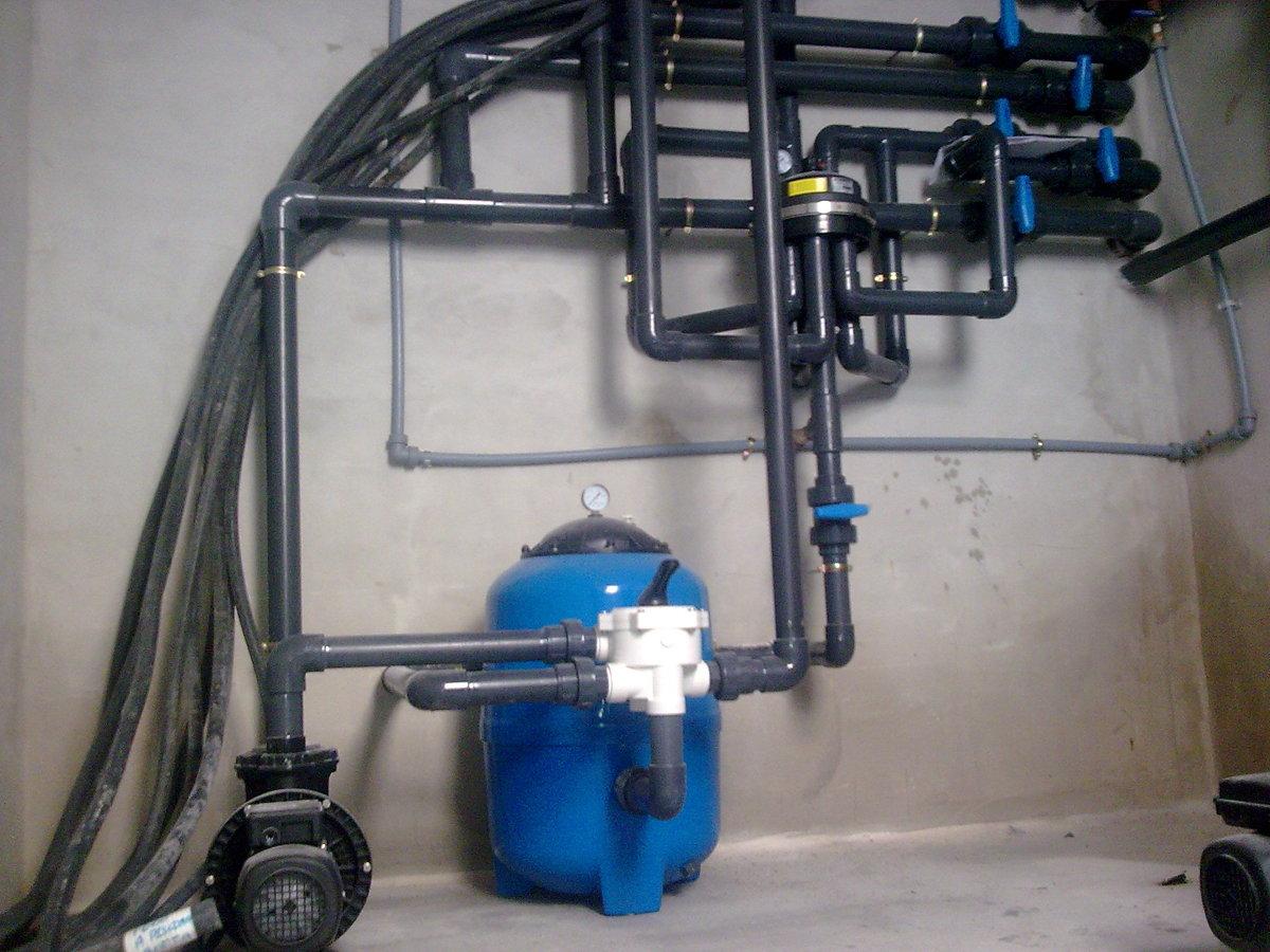 Foto sala bomba piscina de instalaciones t rmicas for Bomba de agua para piscina