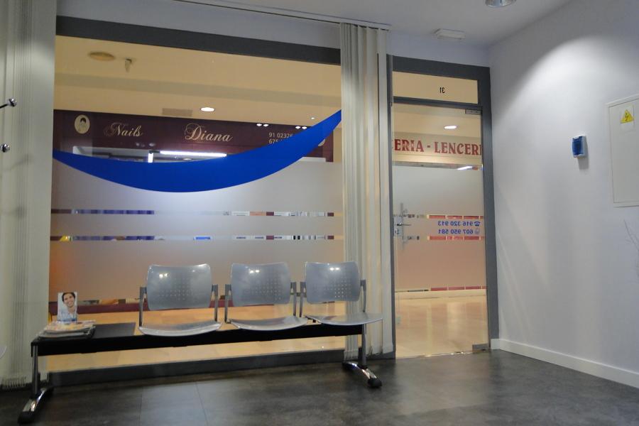 Sala de espera y entrada